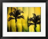 Framed Two Palms