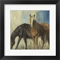 Framed Horses II