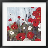 Framed Passion Poppies II