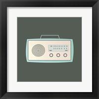 Framed MCM Radio I