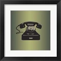 Framed MCM Telephone