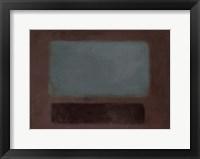 Framed Blue Rush