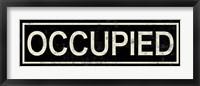 Framed Occupied