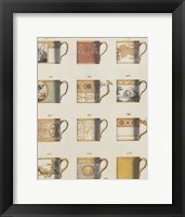 Framed Teacups I