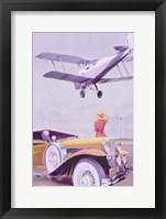 Framed Vintage Airport