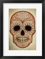 Framed Day of the Dead Skull II