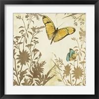 Framed Butterfly in Flight I