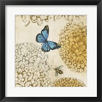 Framed Butterfly in Flight II