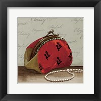 Framed Red Bag