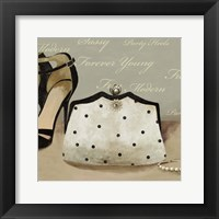 Framed White bag