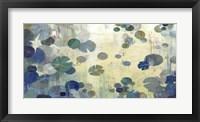 Framed Teal Lily