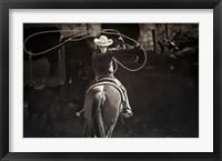 Framed American Cowgirl