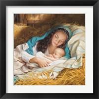 Framed Mary & Baby Jesus