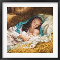 Framed Mary & Baby Jesus