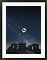 Framed Eclipse at Carhenge