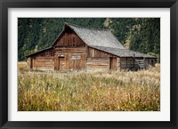 Framed Teton Barn