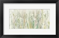 Framed Autumn Grass Green