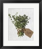 Framed Thyme
