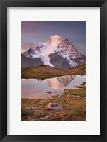 Framed Mount Robson