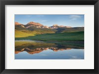 Framed Rocky Mountains Montana