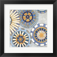 Framed Circle Delight IV