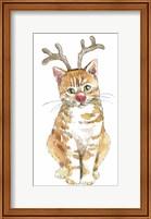 Framed Christmas Kitties III