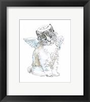 Framed Christmas Kitties I