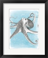 Coastal Sea Life II Framed Print