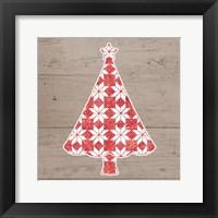 Framed Nordic Holiday XVI