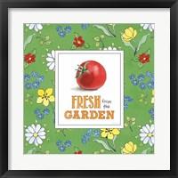 Framed Fresh From the Garden V