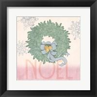 Framed Pastel Christmas IV
