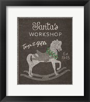 Framed Chalkboard Christmas Signs I