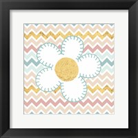 Framed Baby Quilt Gold II