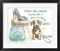 Framed Glamour Pups V