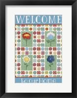 Framed Welcome Squares