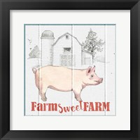 Farm To Table III Framed Print