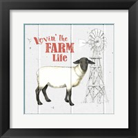 Farm To Table VII Framed Print