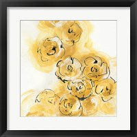 Framed Yellow Roses Anew II B