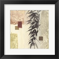Framed Textured Bamboo II