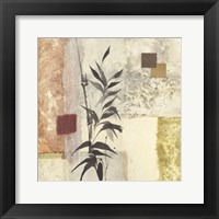 Framed Textured Bamboo I