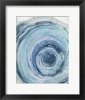 Framed Watercolor Geode IX