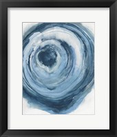 Framed Watercolor Geode III
