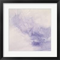Framed Crinkle Purple