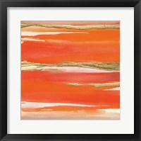 Framed Gilded Mandarin I