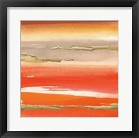 Framed Gilded Mandarin III