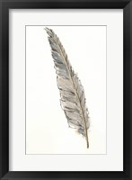 Framed Gold Feathers VI
