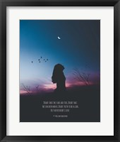 Framed Doubt Thou the Stars are Fire Shakespeare Night Scene Color