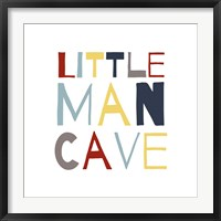 Framed Little Man Cave Primary Color Palette
