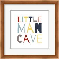 Framed Little Man Cave Primary Color Palette