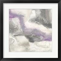 Framed Shades of Amethyst I